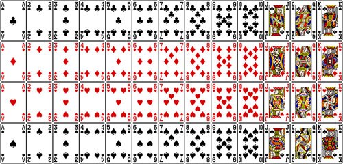 graphic relating to Printable Card Games called Printable Playing cards - Daniels Card Online games