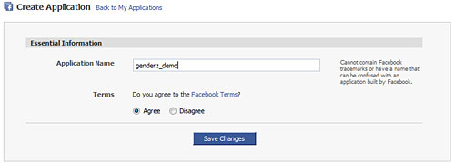 Developing a Facebook Application - Part 1
