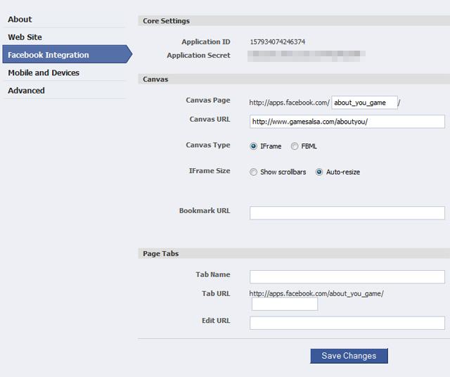 Facebook friend application