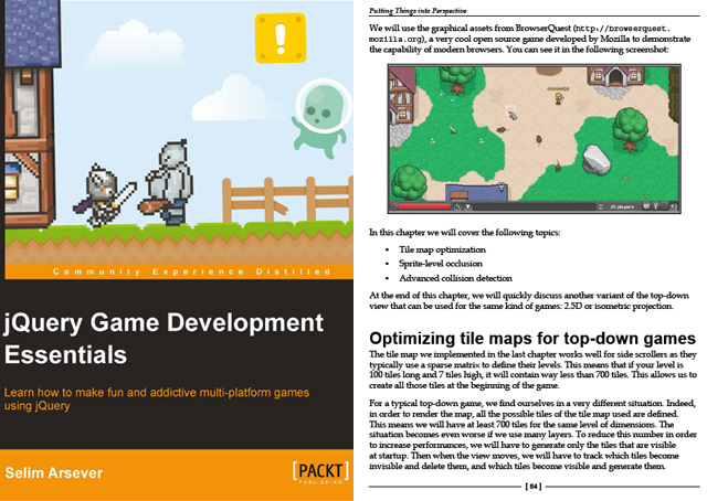 Learn to create games with jQuery with jQuery Game Development