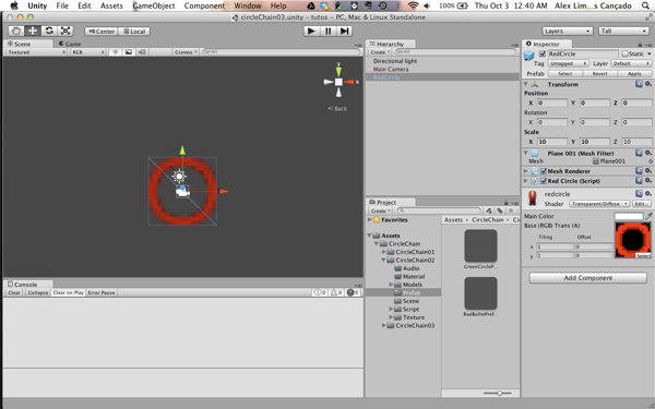 GameDev Tutorial – Basic Circle Chain Engine Using Unity3D