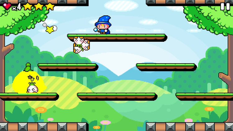 """Create an HTML5 game like """"Drop Wizard"""" with Phaser – player movement"""
