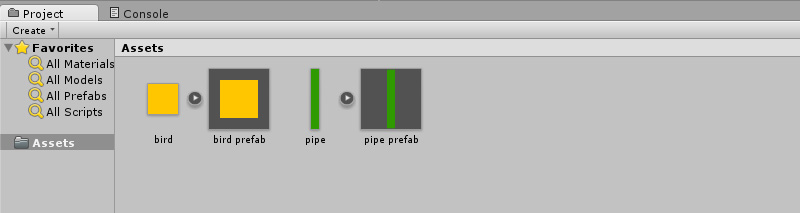 Your first Unity 5 project: a Flappy Bird prototype