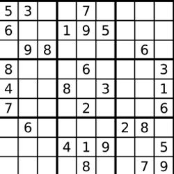 Pure JavaScript Sudoku generator/solver – Emanuele Feronato