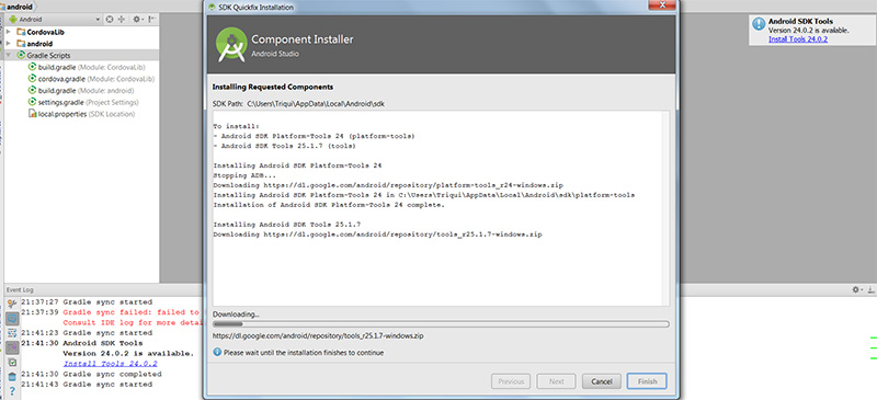 Make your HTML5 games run on Android devices with Cordova and
