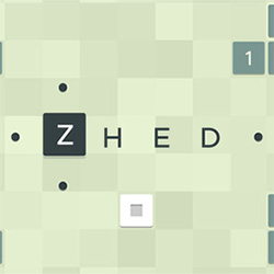 "HTML5 fully working prototype of iOS ""Zhed"" puzzle game with 10"