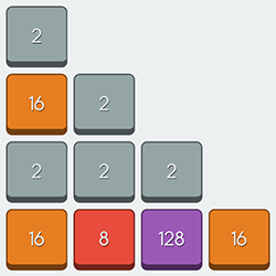 how to win 2048 game easily
