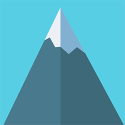 Programmatically draw mountains and export them as PNG